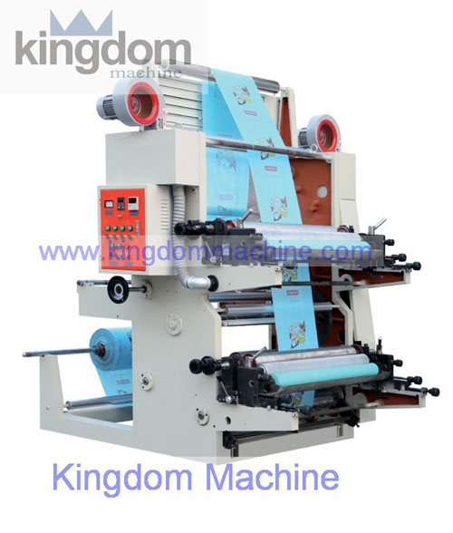 High Speed 2 color Flexography Printing Machine