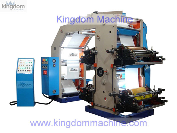 High Speed 4 color Flexography Printing Machine