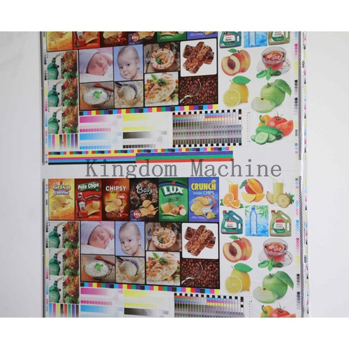 Sample of 4 Colors Flexo Printing Machines