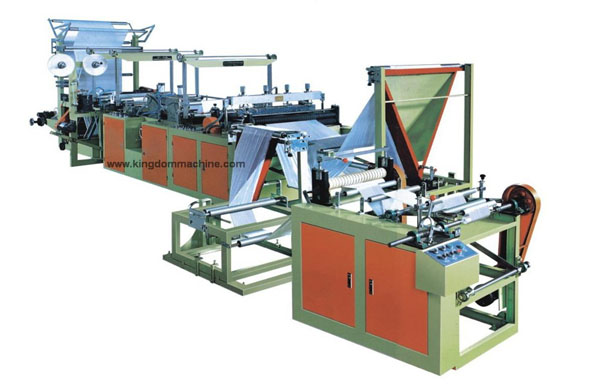 Garbage Bag Making Machine Continuous roling
