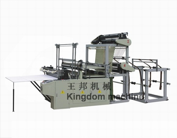 Double Lines Bag making Machine
