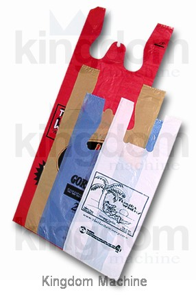 plastic T-shirt bag