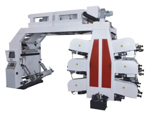 Timing Belt Flexo printing machine