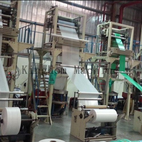 Biodegradable Film blowing machine shipment